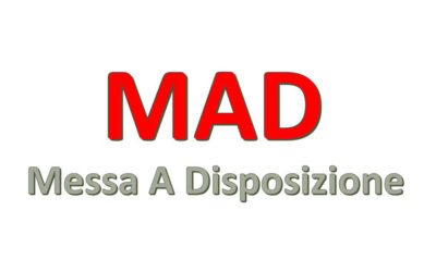 Termine accettazione MAD